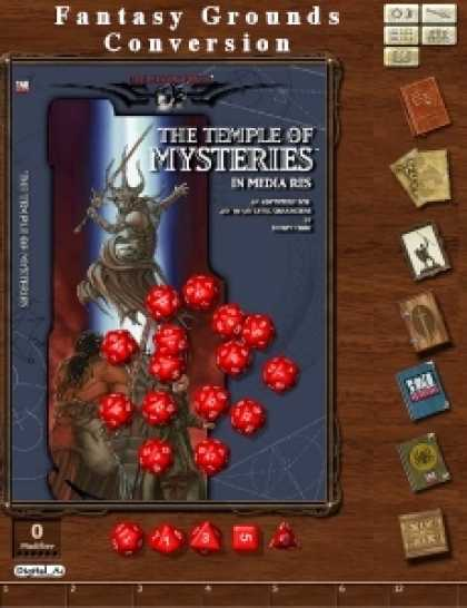 Role Playing Games - Monte Cook's Temple of Mysteries Conversion for Fantasy Grounds