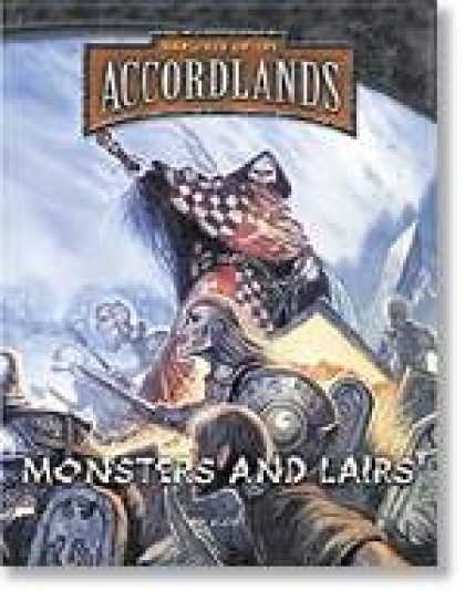 Role Playing Games - Warlords of the Accordlands: Monsters and Lairs