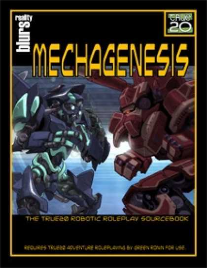Role Playing Games - Mechagenesis: The True20 Robotic Roleplay Sourcebook