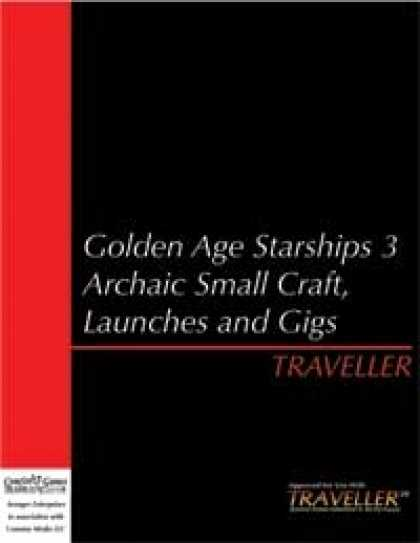 Role Playing Games - Traveller - Golden Age Starships 3 Archaic Small Craft, Shuttles