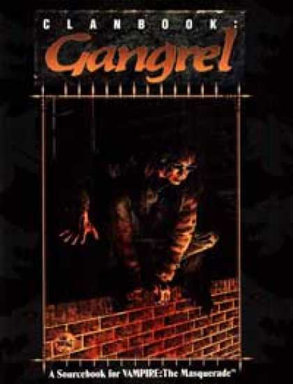 Role Playing Games - Clanbook: Gangrel - 1st Edition