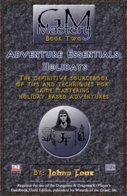 Role Playing Games - GM Mastery: Adventure Essentials: Holidays