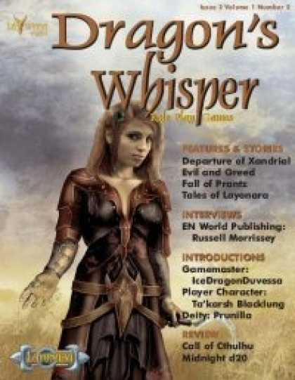 Role Playing Games - Dragon's Whisper - Issue #2