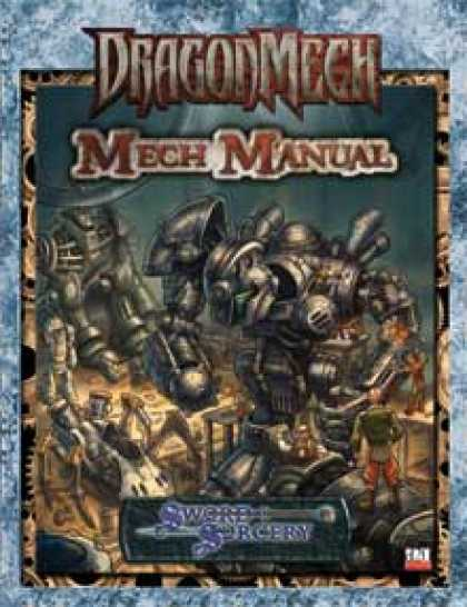 Role Playing Games - DragonMech: Mech Manual