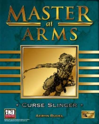 Role Playing Games - Master at Arms: Curse Slinger