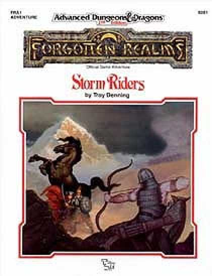 Role Playing Games - Storm Riders