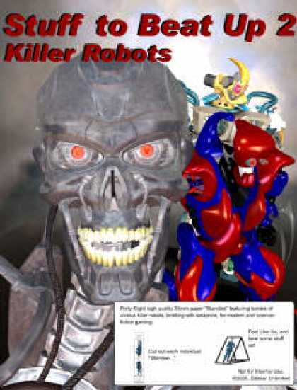 Role Playing Games - Stuff To Beat Up 2: Killer Robots