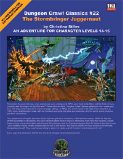 Role Playing Games - Dungeon Crawl Classics #22: The Stormbringer Juggernaut
