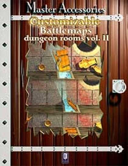 Role Playing Games - Customizable Battlemaps, dungeon rooms Vol.II