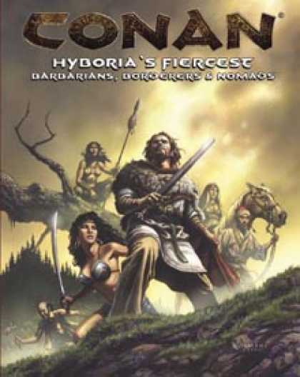 Role Playing Games - Hyboria's Fiercest - Barbarians, Borderers and Nomads