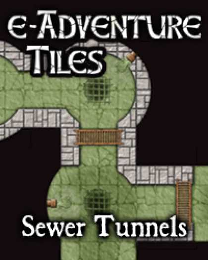 Role Playing Games - e-Adventure Tiles: Sewer Tunnels