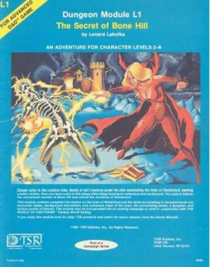 Role Playing Games - L1 - The Secret of Bone Hill