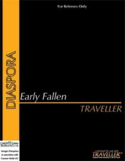 Role Playing Games - Traveller - Early Fallen