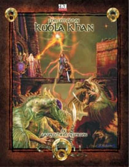 Role Playing Games - The Temple of Kubla Khan 3.5