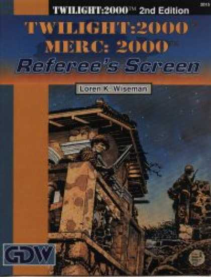 Role Playing Games - Twilight:2000 Merc:2000 Referee's Screen