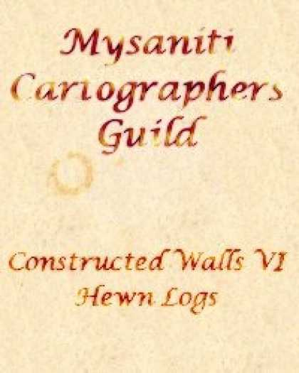 Role Playing Games - Constructed Walls 6: Hewn Logs
