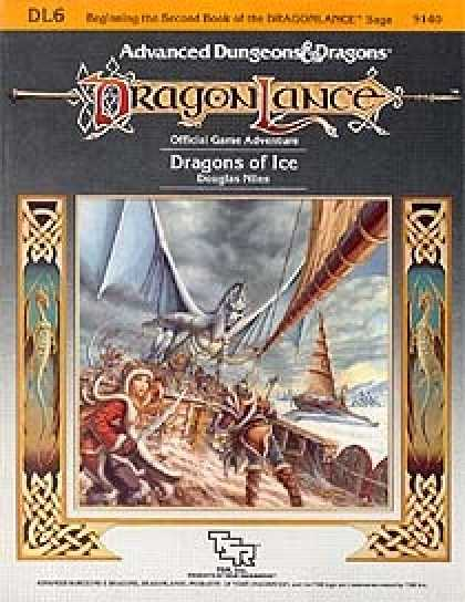 Role Playing Games - Dragons of Ice