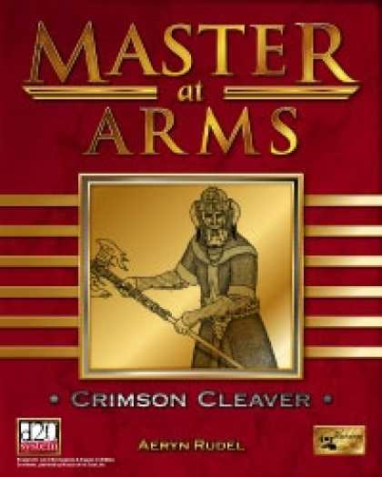 Role Playing Games - Master at Arms: Crimson Cleaver