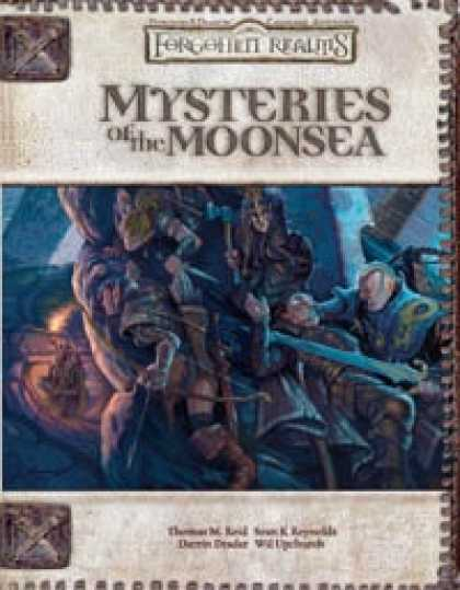Role Playing Games - Mysteries of the Moonsea