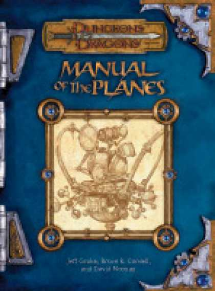 Role Playing Games - Manual of the Planes