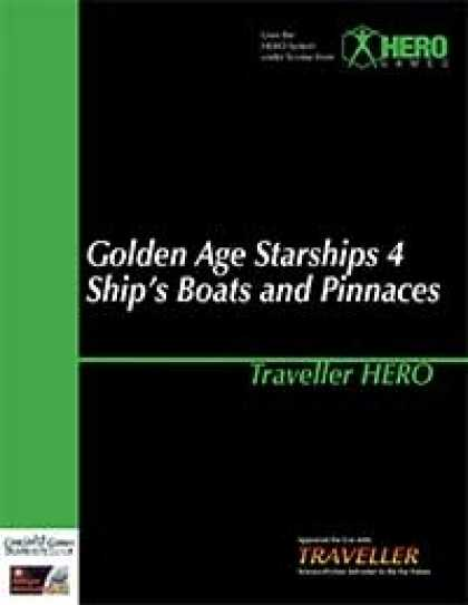 Role Playing Games - Traveller Hero - Golden Age Starships 4 Boats and Pinnaces