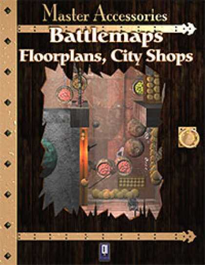 Role Playing Games - Battlemaps: Floorplans, City Shops