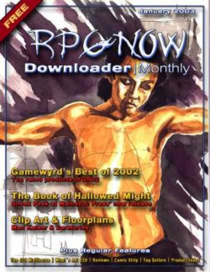 Role Playing Games - Downloader Monthly - Jan 2003