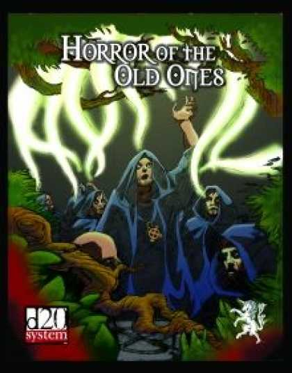 Role Playing Games - The Horror of the Old Ones