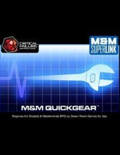 Role Playing Games - M&M Quickgear