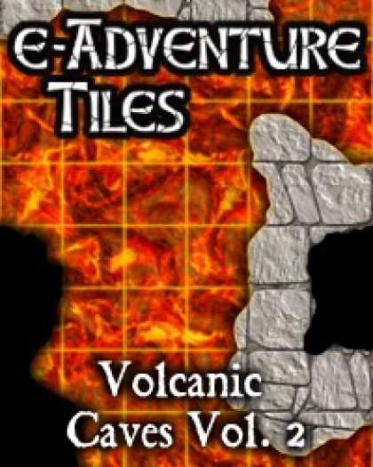 Role Playing Games - e-Adventure Tiles: Volcanic Caves Vol. 2