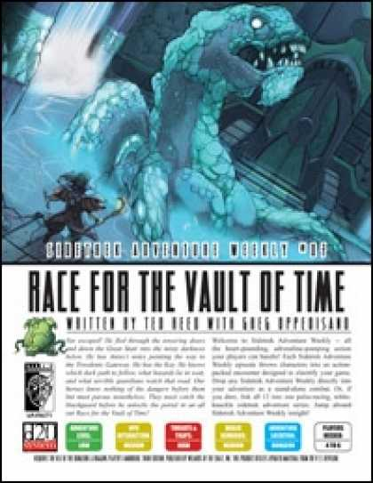 Role Playing Games - Sidetrek Adventure Weekly #07: Race for the Vault of Time
