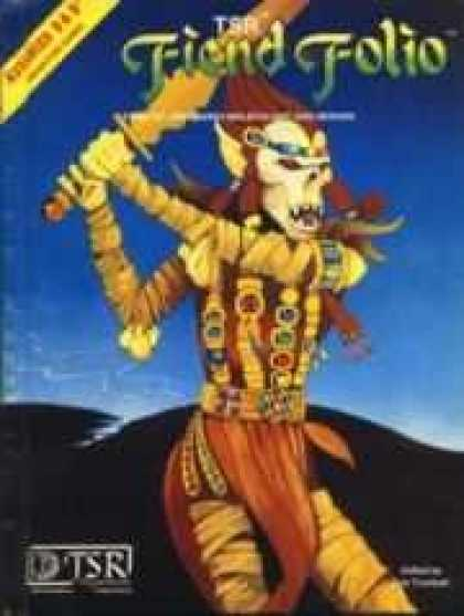Role Playing Games - Fiend Folio