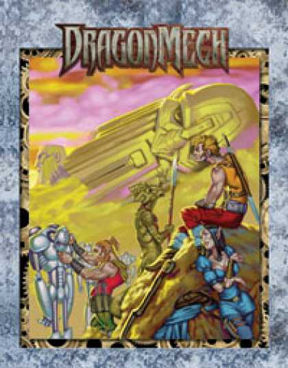 Role Playing Games - DragonMech: Almanac of the Endless Traders