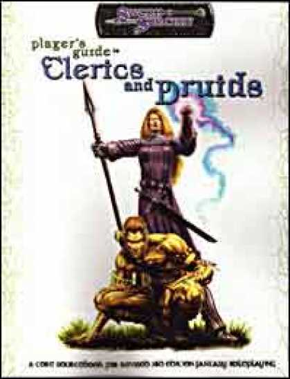 Role Playing Games - Player's Guide to Clerics and Druids