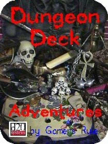 Role Playing Games - Dungeon Decks, Adventures