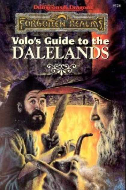 Role Playing Games - Volo's Guide to the DALELANDS