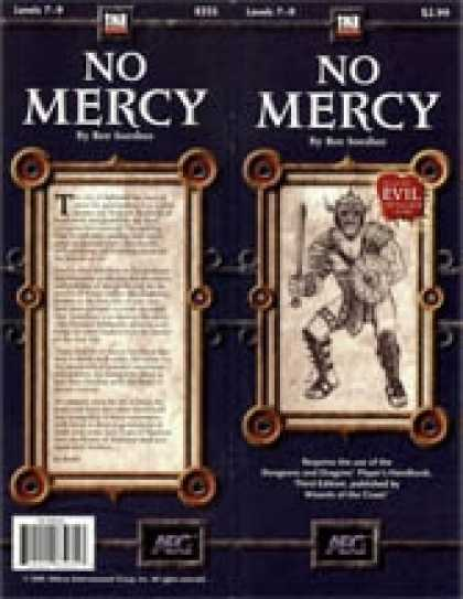 Role Playing Games - No Mercy