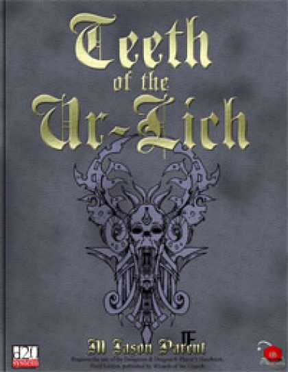 Role Playing Games - E.N. Treasure Troves: Teeth of the Ur-Lich