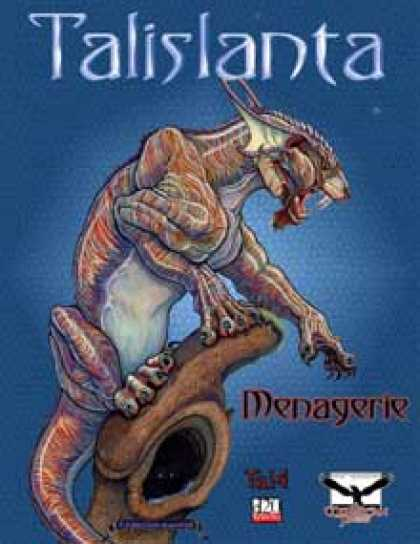 Role Playing Games - Talislanta Menagerie (Tal4 & d20 edition)