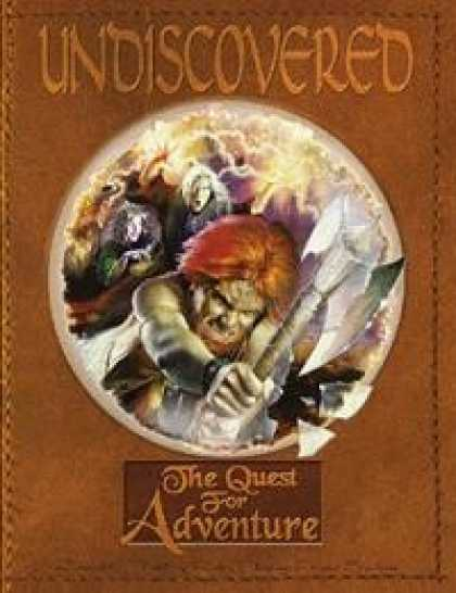 Role Playing Games - Undiscovered: The Quest for Adventure (Core Rulebook)