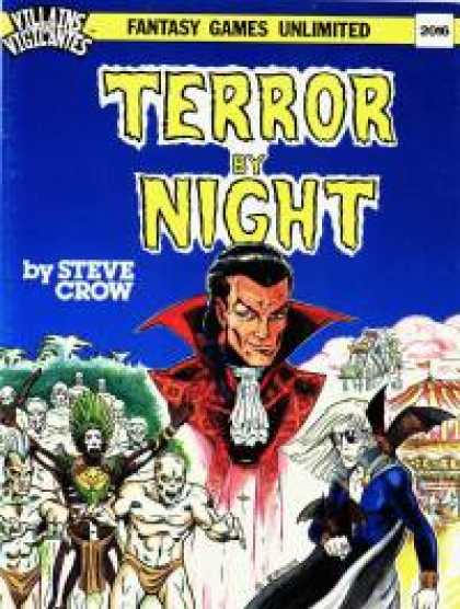 Role Playing Games - Terror by Night