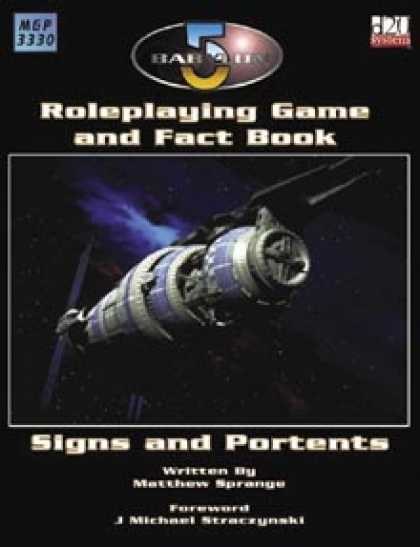 Role Playing Games - Babylon 5 Roleplaying Game and Fact Book