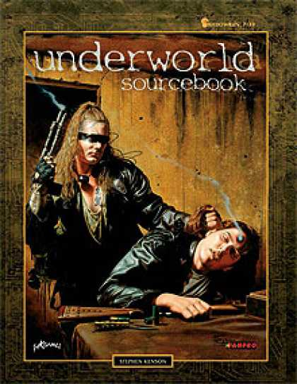 Role Playing Games - Underworld Sourcebook