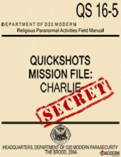 Role Playing Games - QuickShots Mission File: Charlie