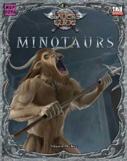Role Playing Games - Slayer's Guide to Minotaurs