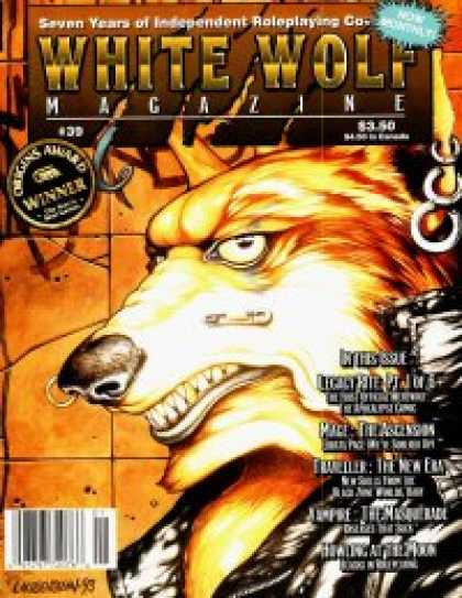 Role Playing Games - White Wolf Magazine #39