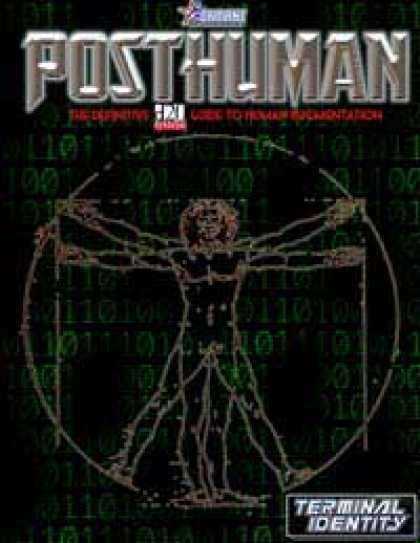 Role Playing Games - Posthuman: The Definitive D20 Guide to Human Augmentation