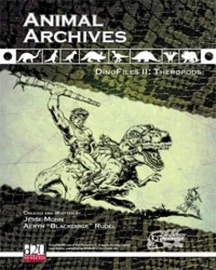 Role Playing Games - Animal Archives: DinoFiles II - Theropods
