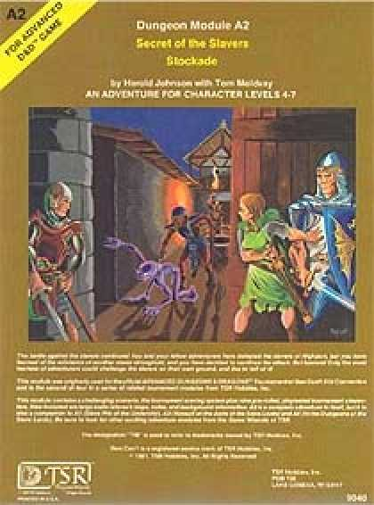 Role Playing Games - A2 - Secret of the Slavers' Stockade