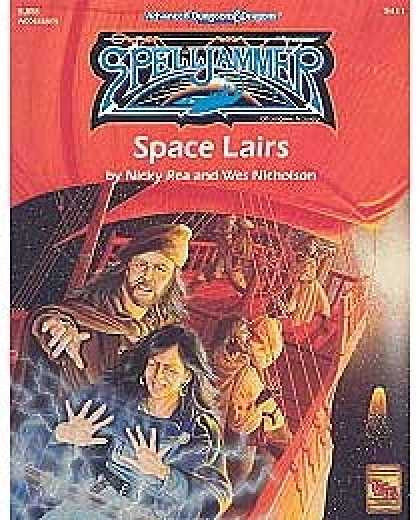 Role Playing Games - SJR8 - Space Lairs